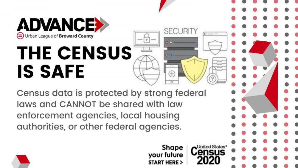 Census is safe graphic