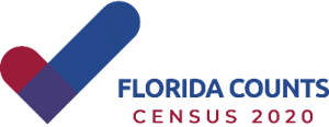 Florida counts 2020 logo